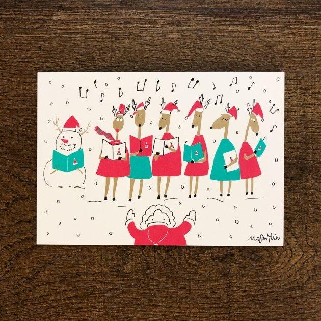 2019音樂聖誕卡-合唱團 1