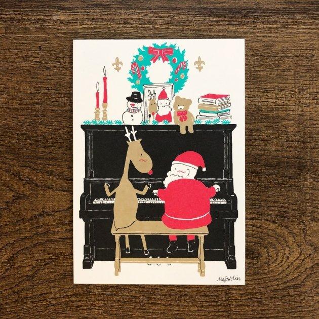 2019音樂聖誕卡-鋼琴 1