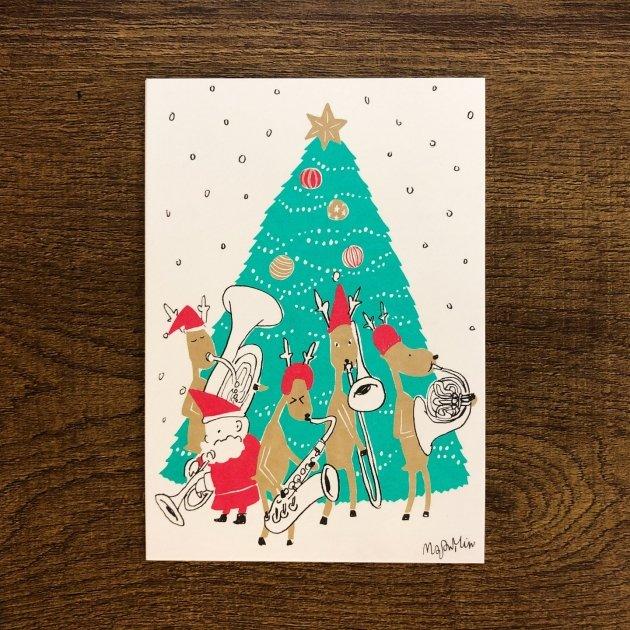 2019音樂聖誕卡-管樂器 1